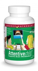 Source Naturals Attentive Child - 30 chewable wafers