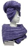 After Shower Hair Wrap - Lilac