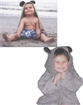 After Shower Teddy Bear Hooded Towel
