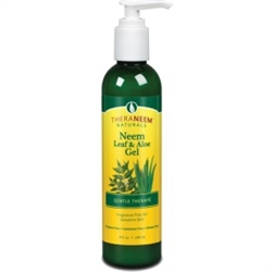 TheraNeem's- Leaf & Aloe Gel 8 oz. - Gentle Therape