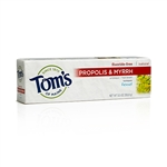 Tom's of Maine - Fluoride-Free Propolis & Myrrh Toothpaste 5.5 oz